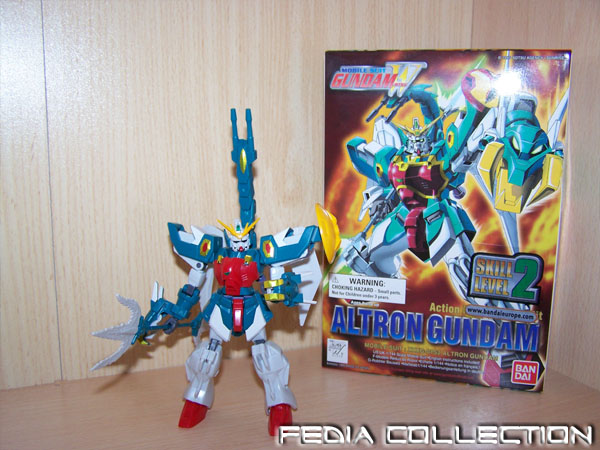 Gundam Wing Figurines Ltron1